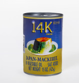 14K Gold Mackerel